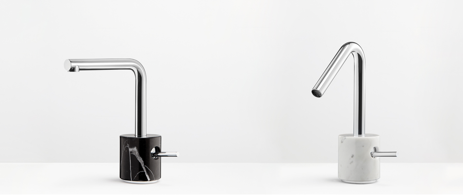 beautiful faucet black and white