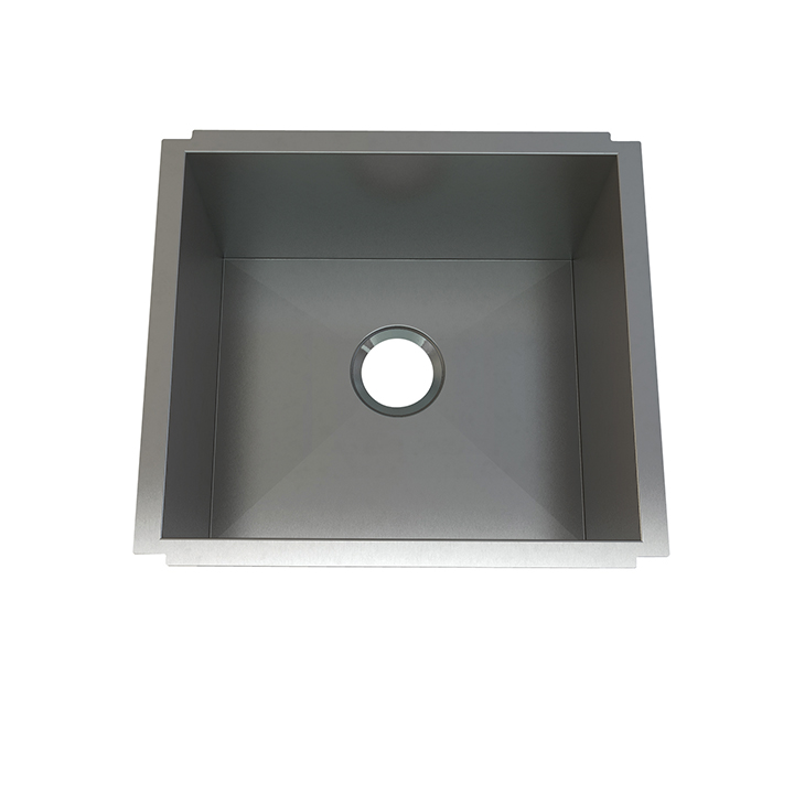 Atelier stainless steel laundry single bowl - undermount