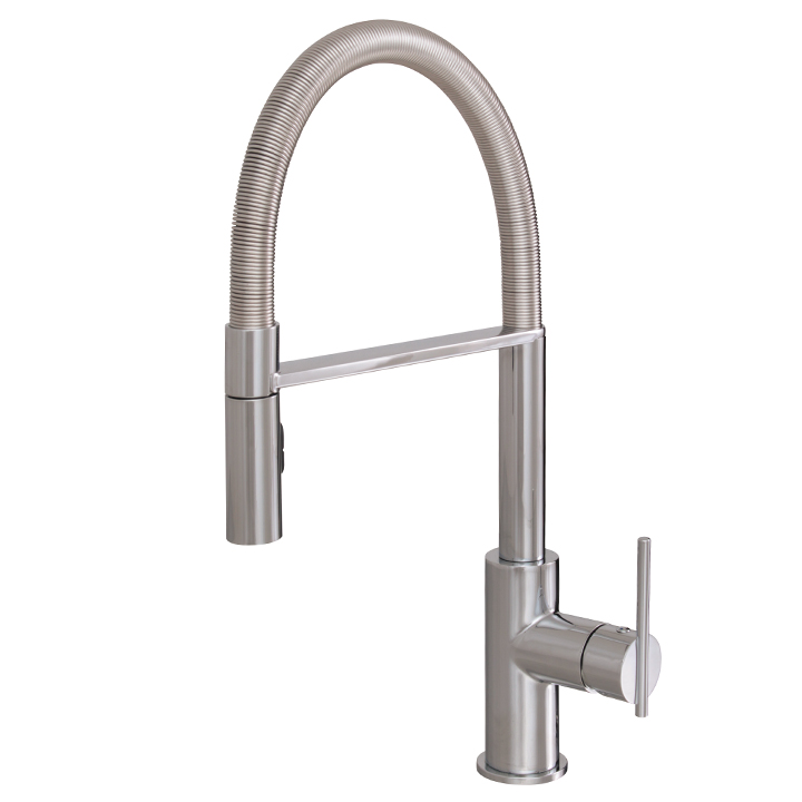 Aquabrass | Pull-out dual stream mode kitchen faucet