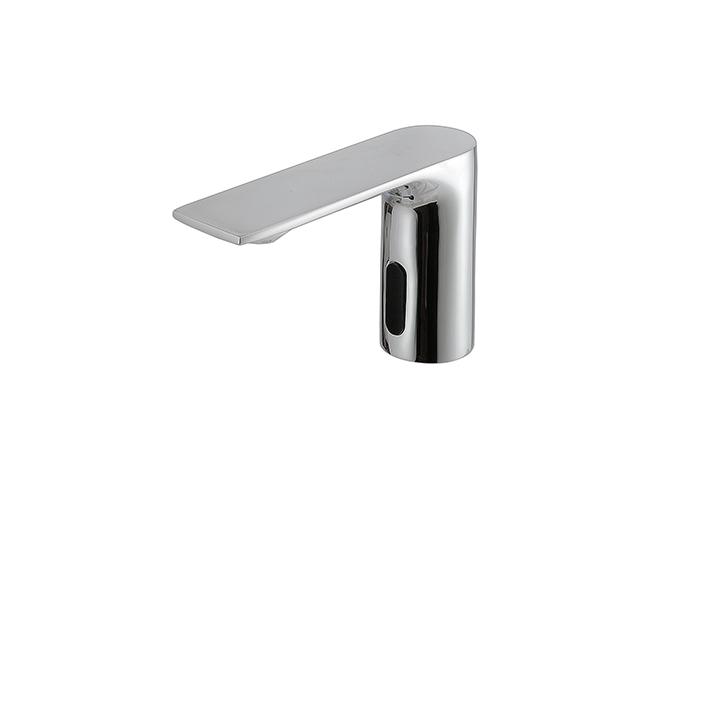 Touchless single-hole lavatory faucet