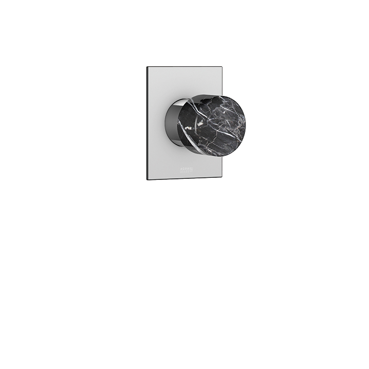 Marmo square trim set for thermostatic valve #N1006