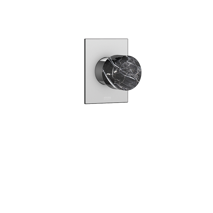 Marmo square trim set for thermostatic valve  #N1008