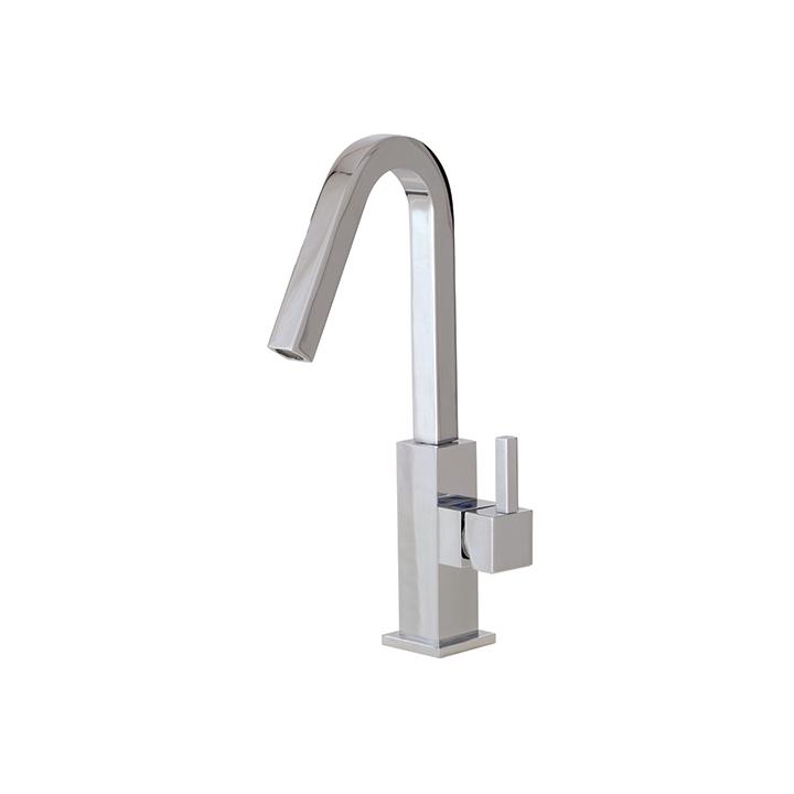 Single Hole Lavatory Faucet : Home Bathroom Bathroom Faucets XSQUARE Single-hole lavatory faucet