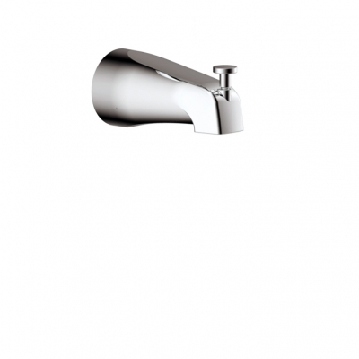 "5 1/4"" round tub spout with diverter"
