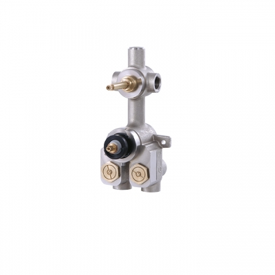 "DEMI-TOTEM 1/2"" thermostatic valve with 1 shut-off valve"