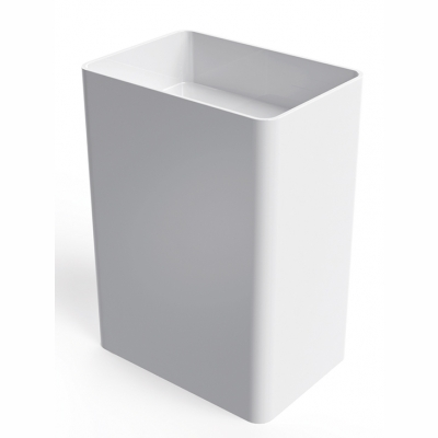 Everest free-standing rectangular basin