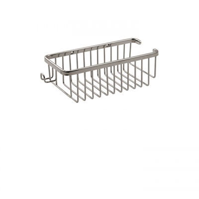 Rectangular basket with razor handle