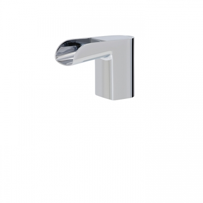 Touchless single-hole lavatory faucet
