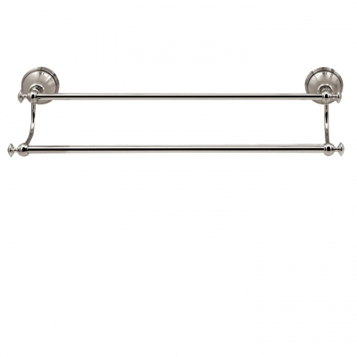 "20"" wallmount double towel bar"