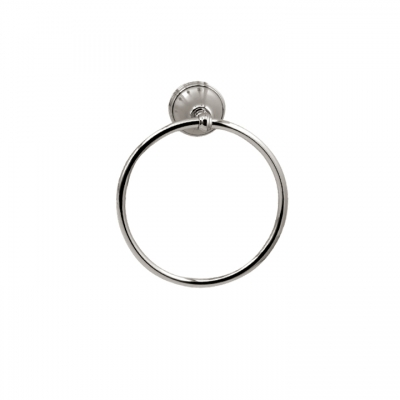 "8"" wallmount towel ring"
