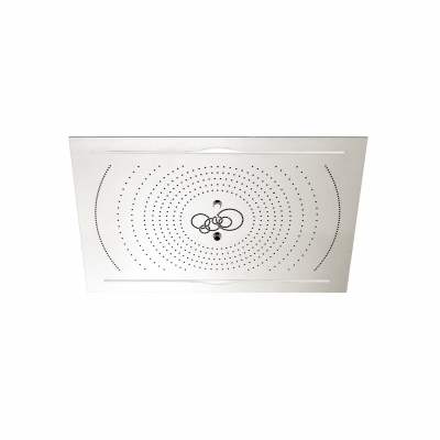 "Cura 40"" x 28"" recessed rainhead"