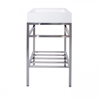 "19"" x 19"" free-standing console"