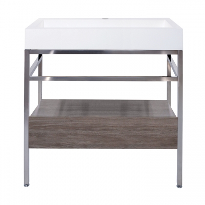 "31"" x 19"" free-standing console with drawer"