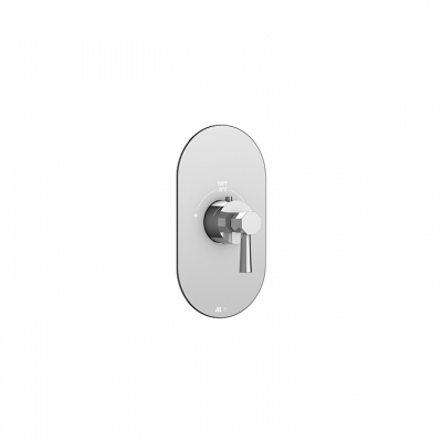 Otto round trim set for thermostatic valves #12000 and #3000