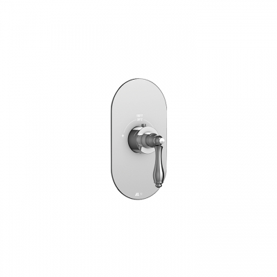 Julia round trim set for thermostatic valves #12000 and #3000