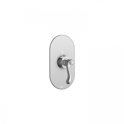 San Remo round trim set for thermostatic valves #12000 and #3000