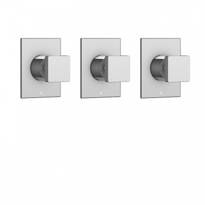 "Square trim set for 3/4"" shut-off valve #N1030"