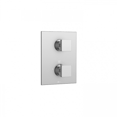 "Square trim set for 1/2"" thermostatic valve #N1062"