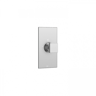 "Square trim set for #12000 1/2"" and #3000 3/4"" thermostatic valves"